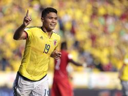 Teófilo Gutiérrez no se vestirá de amarillo ante Paraguay ni contra Paraguay. (Foto: Imago)