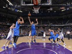 Dirk Notitzki gegen Sacramento Kings