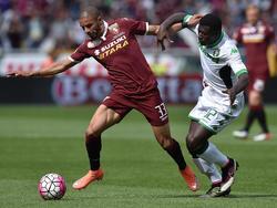 Bruno Peres verteidigt im Moment in der Serie A beim FC Turin