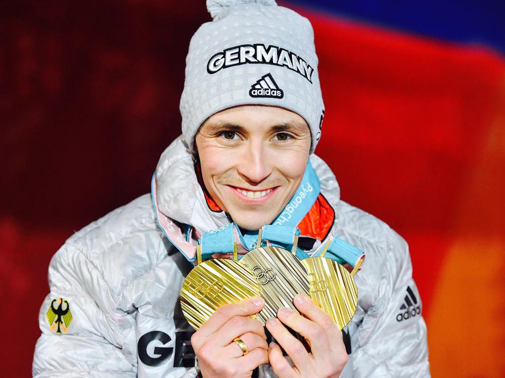 Eric Frenzel war der erfolgreichste deutsche Olympia-Teilnehmer in Pyeongchang