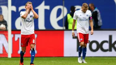 Der Hamburger SV erlebt gegen Jahn Regensburg ein Debakel