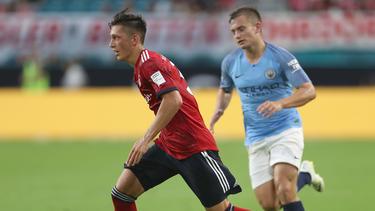Meritan Shabani (l.) läuft aktuell in der Regionalliga-Bayern auf