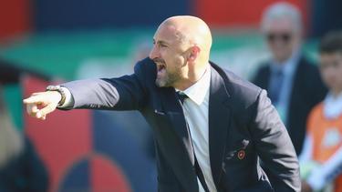 Zwei Monate zum Saisonende 2014/2015 war Gianluca Festa Cheftrainer bei Cagliari Calcio.