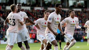 Manchester United gewinnt beim AFC Bournemouth