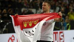 Lukas Podolski ist in Köln verliebt