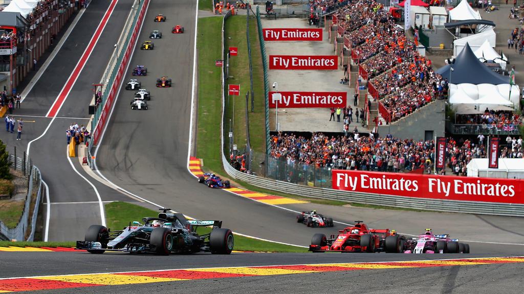 Lewis Hamilton (li.) dominierte auch in der Formel-1-Saison 2018