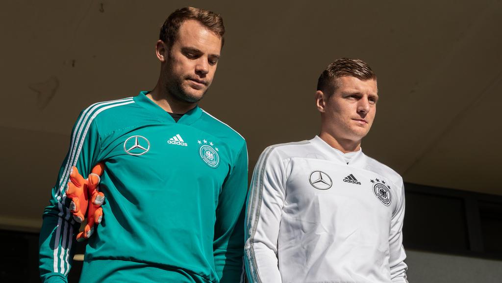 DFB-Formcheck: Manuel Neuer und Toni Kroos kriseln - Neulinge lauern