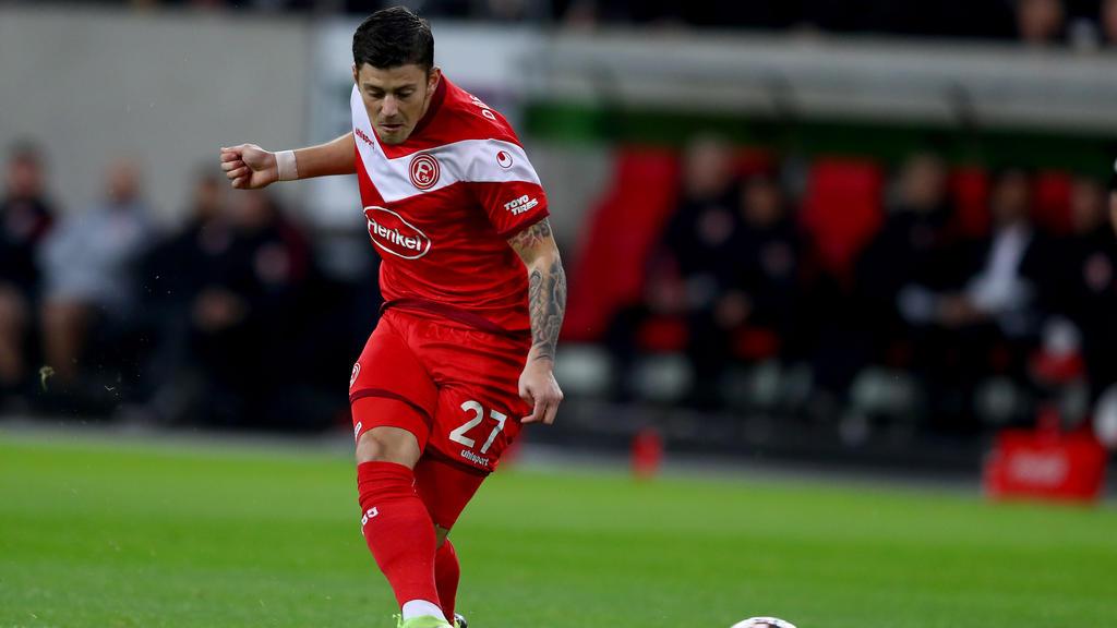 Dawid Kownacki fällt im Derby gegen Gladbach wohl aus