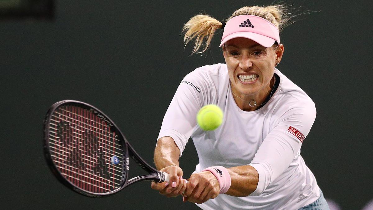 Angelique Kerber steht in Indian Wells im Viertelfinale