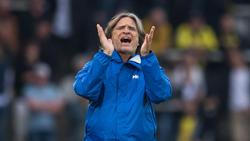 Norbert Elgert ist U19-Trainer des FC Schalke 04