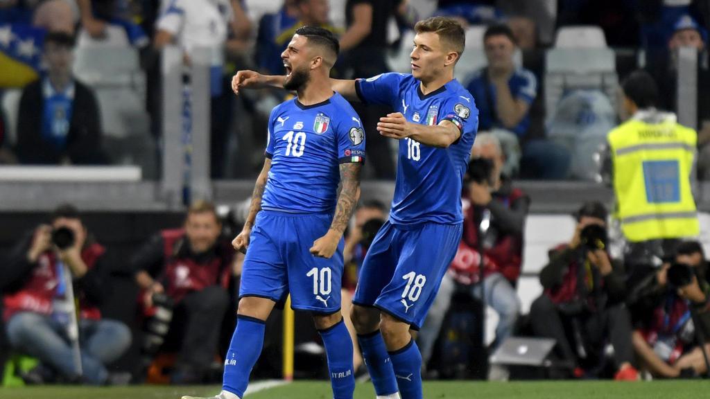Italien setzte sich gegen  Bosnien-Herzegowina durch