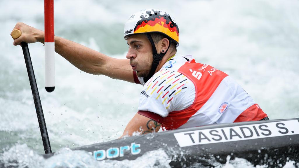 Sieg beim Weltcup-Auftakt für Kanute Sideris Tasiadis