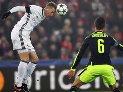 Marc Janko gegen Arsenal