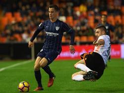 Juanpi en LaLiga contra el Valencia. (Foto: Imago)