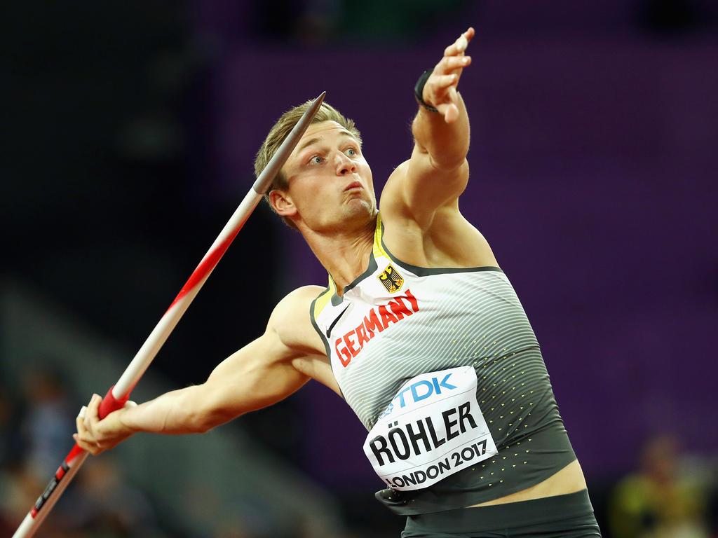 Nichts anderes als EM-Gold hat sich Speerwerfer Thomas Röhler als Ziel gesetzt