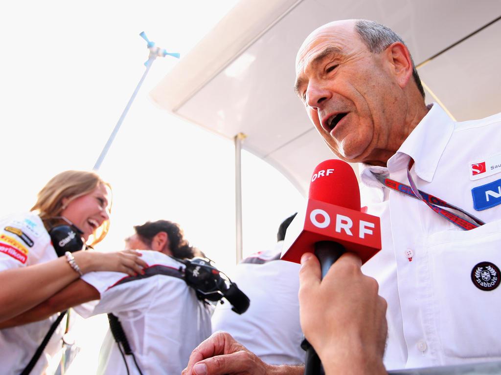 Peter Sauber hat keine Sorgen wegen des Namens Sauber in der Formel 1