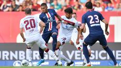 Zwischen PSG und dem 1. FC Nürnberg gab es keinen Sieger