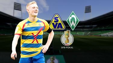 Kapitän Nick Köster freut sich auf die Partie des SVA gegen Werder