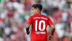 Philippe Coutinho führte den FC Bayern zu einem 13:1-Erfolg