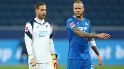 Kevin Vogt (r.) sitzt gegen den BVB womöglich nur auf der Bank