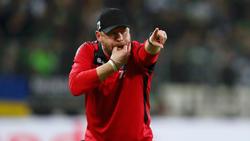 Hat viel Vertrauen in seine Mannschaft: Paderborns Trainer Steffen Baumgart