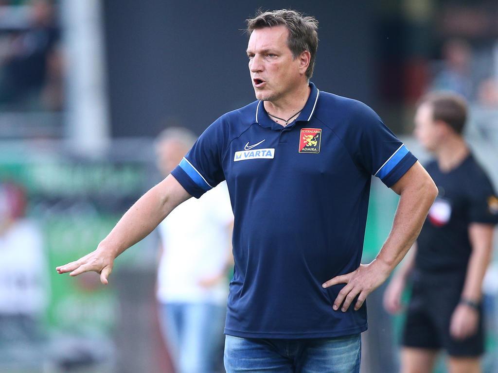 Admira-Coach Herzog will nach dem Sieg über Rapid nachlegen