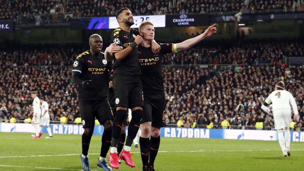 Manchester City gewinnt das Hinspiel gegen Real Madrid