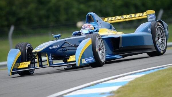 Team der ersten Stunde: Renault war schon mal in der Formel E vertreten