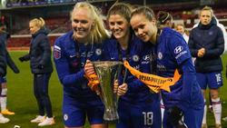 Die Damen des FC Chelsea sind Meister