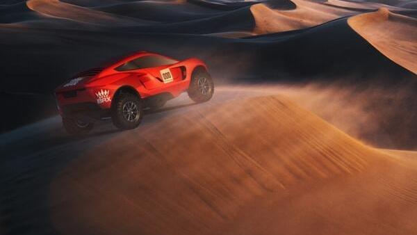 Bisher wurden nur Computergrafiken des neuen Dakar-Autos veröffentlicht