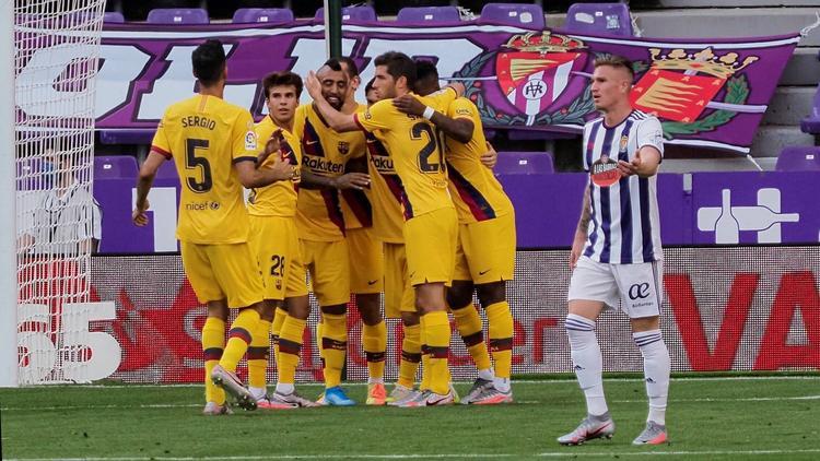 Vidal decidió el partido en Pucela con su gol número 8 de la temporada.