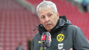 BVB-Coach Favre konnte nicht zufrieden sein
