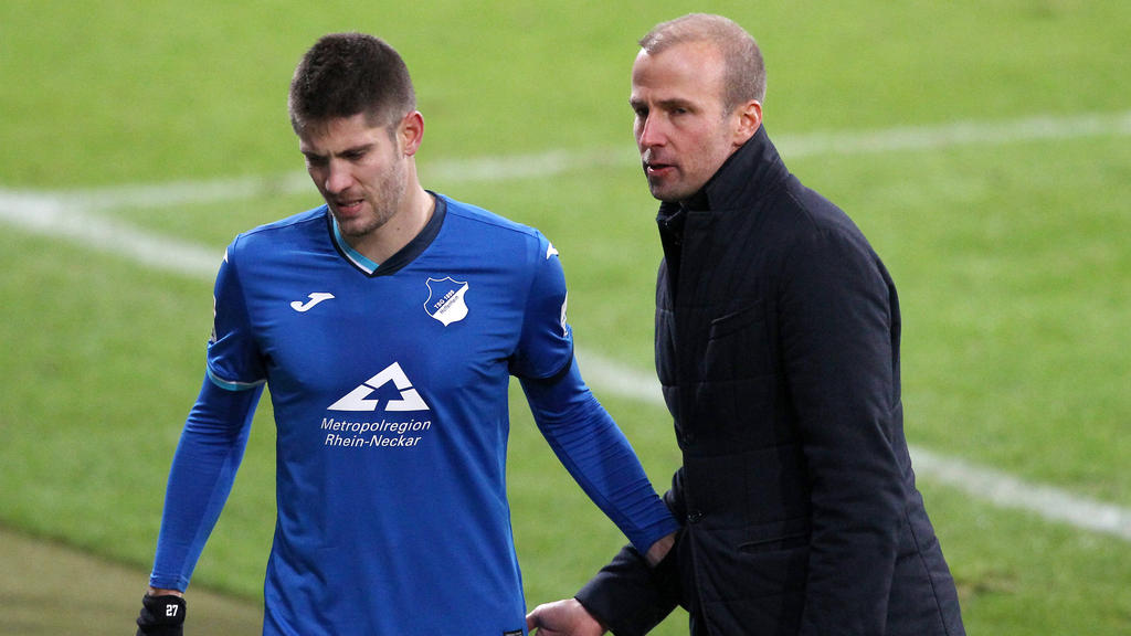 TSG-Coach Hoeneß (re.) steht unter Druck