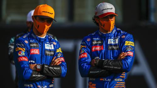 Zwischen Lando Norris und Carlos Sainz gab es nicht nur gute Zeiten
