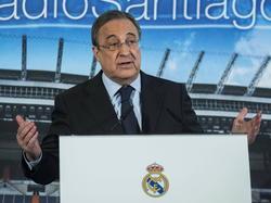 Florentino Pérez espera seguir presidiendo el Madrid algunos años más.