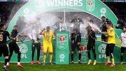 Das englische Ligapokal-Finale soll vor 8000 Zuschauern stattfinden