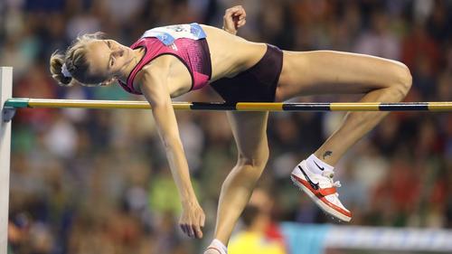 Swetlana Schkolina bekam eine Dopingsperre