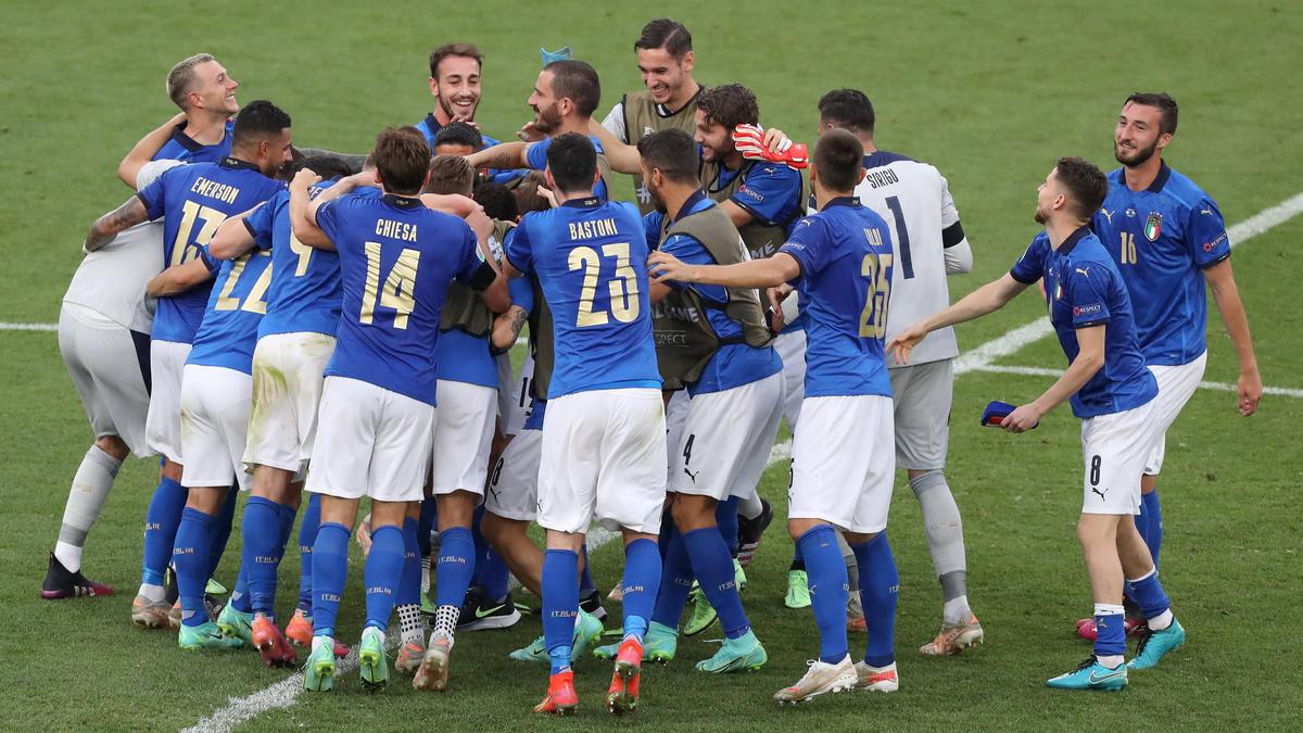 Italien war in der Vorrunde das Team mit den meisten Torschüssen