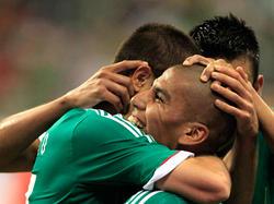 Die Nationalmannschaft von Mexiko kämpft um den Qualifikation zur WM 2014
