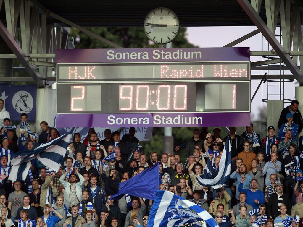 Rapid muss gegen Helsinki ein 1:2 aufholen