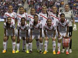 Die Startelf Costa Ricas im Finale gegen die USA
