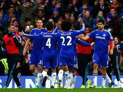 Nada menos que seis jugadores del Chelsea figuran en el once ideal de la temporada. (Foto: Getty)