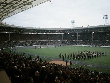 Das legendäre, alte Wembley Stadion