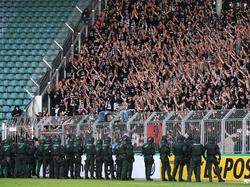 Fans der Eintracht sorgten in Magdeburg für Ärger