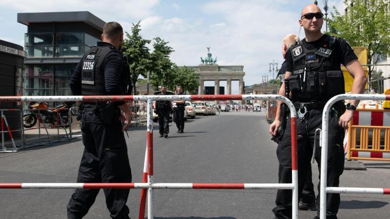 Wegen des Staatsbesuchs des türkischen Präsidenten hat die Berliner Polizei Sicherheitsbedenken geäußert