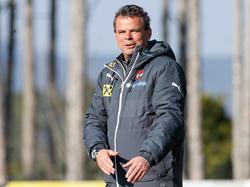 Grund zur Freude für U17-Teamchef Manfred Zsak