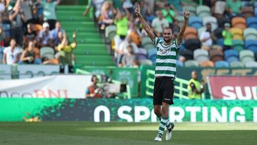Bas Dost hat bei Sporting Lissabon einen Lauf