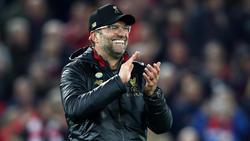 Jürgen Klopp ist mit dem FC Liverpool Tabellenführer