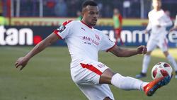 Marvin Ajani traf zum zwischenzeitlichen 1:0 für den Halleschen FC