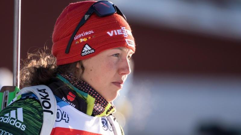 Biathletin Laura Dahlmeier hat ihre Biathlon-Karriere mit 25 Jahren beendet